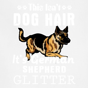It's German Shepherd Glitter Tee Shirt - Adjustable Apron