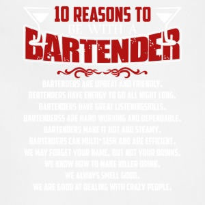 Bartender Shirt - 10 Reasons A Bartender Shirt - Adjustable Apron