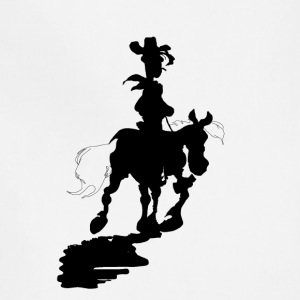 Lucky Luke Silhouette - Adjustable Apron