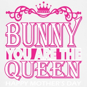 Bunny You Are The Queen Happy Mothers Day - Adjustable Apron