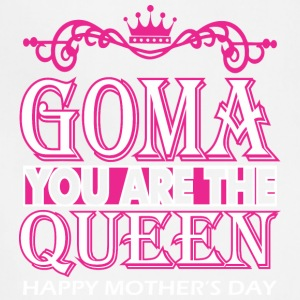 Goma You Are The Queen Happy Mothers Day - Adjustable Apron