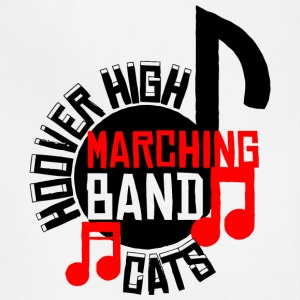 Hoover High Marching Band Cats - Adjustable Apron