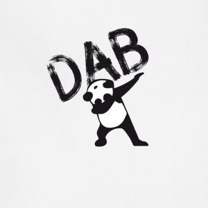 DAB panda dabbing football touchdown mooving dance - Adjustable Apron