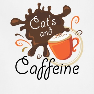 Cat's and Caffeine - Adjustable Apron