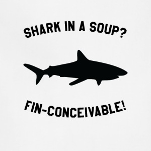 Shark In A Soup? FIN-CONCEIVABLE! - Adjustable Apron