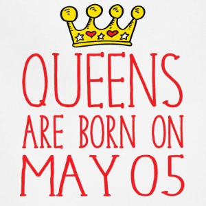 Queens are born on May 05 - Adjustable Apron