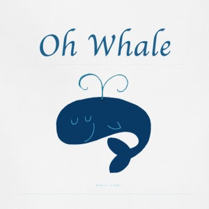 Oh Whale Funny Whale Pun Tee Shirt - Adjustable Apron