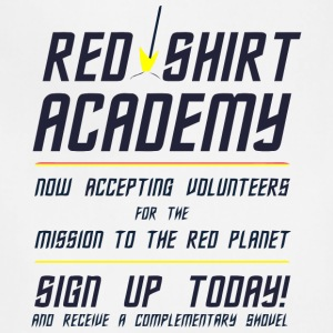 Red Shirt Academy - Adjustable Apron