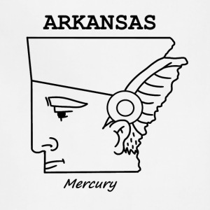A funny map of Arkansas - Adjustable Apron