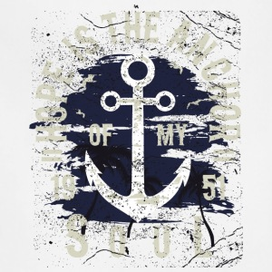 Hope Is The Anchor Of My Soul - Adjustable Apron