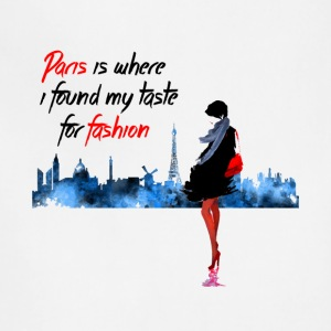 Paris Fashion Design - Adjustable Apron