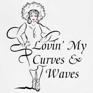 Curves & Waves - Adjustable Apron