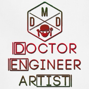 Doctor Engineer Artist - Adjustable Apron