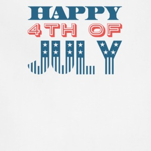 Happy 4th of July Independence Celebration - Adjustable Apron