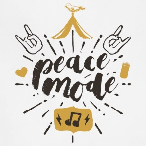 Peace Mode - Festival Shirt - Adjustable Apron