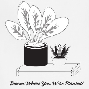 Plant illustration - Adjustable Apron