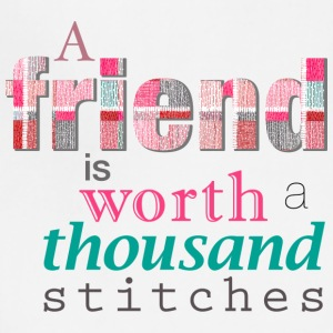 Friends Are Worth Stitches Set - Adjustable Apron