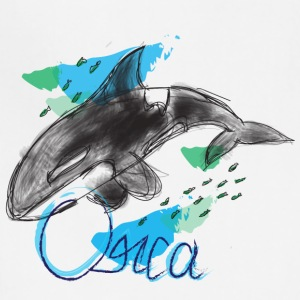 Orca / Killer Whale - Adjustable Apron