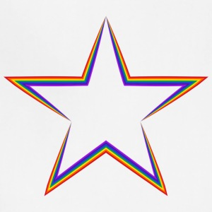 LGBT  Rainbow Star  !!! - Adjustable Apron