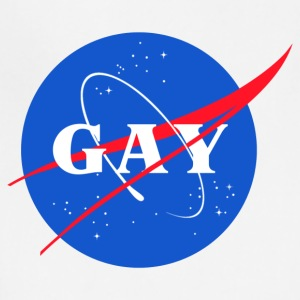 Nasa Gay Pride Logo - Adjustable Apron