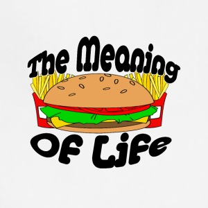 The Meaning of Life (Fast Food) - Adjustable Apron