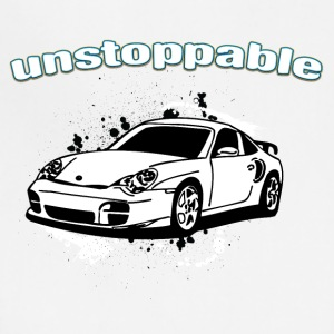 Unstoppable_white_Porche_911 - Adjustable Apron