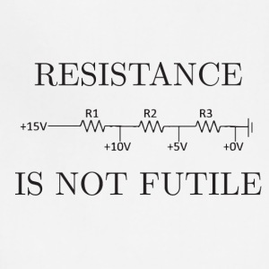 Resistance is not Futile - Adjustable Apron