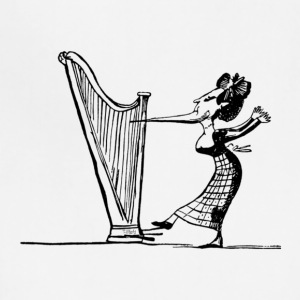 The Harp Player - Adjustable Apron