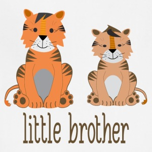 tigers - little brother - Adjustable Apron
