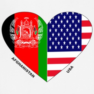 Afghanistan USA Friendship Flags - Adjustable Apron