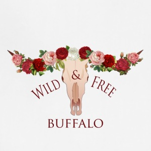 Buffalo bohemian floral crown - Adjustable Apron