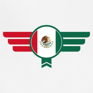 Mexico Badge Emblem Flag - Adjustable Apron