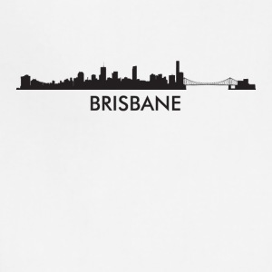 Brisbane Australia Skyline - Adjustable Apron
