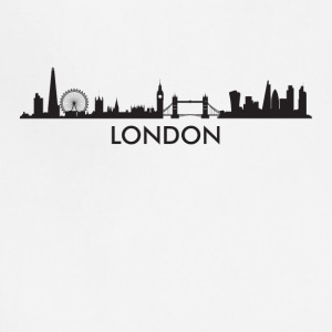 London England Skyline - Adjustable Apron