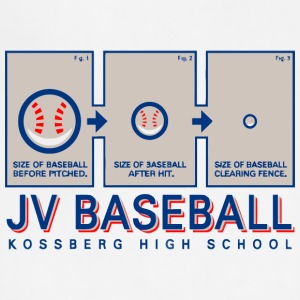 JV BASEBALL KOSSBERG HIGH SCHOOL - Adjustable Apron