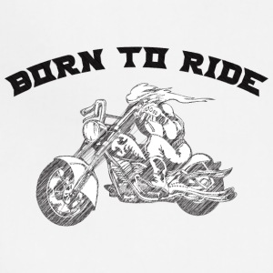 BURN_TO_RIDE_BIKER_2 - Adjustable Apron