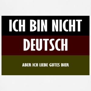 Ich Bin Nicht Deutsch - Adjustable Apron