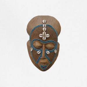 African mask - Adjustable Apron