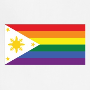 LGBT Gay Pride Rainbow Filipino Flag - Adjustable Apron