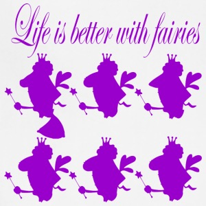 life is better with fairies - Adjustable Apron