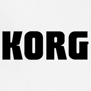 Korg logo - Adjustable Apron