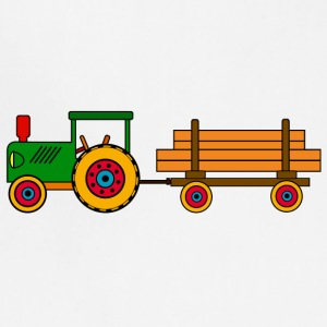 toy tractor with trailer - Adjustable Apron