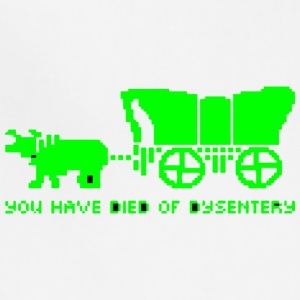 You Have Died Of Dysentery vectorized - Adjustable Apron
