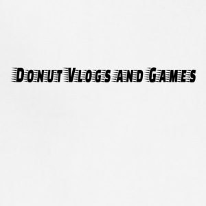 Donuts vlogs and games - Adjustable Apron