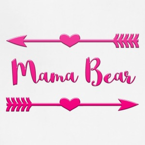 Mama Bear Design-Hot Pink - Adjustable Apron