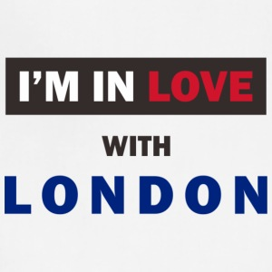 I'm in love with London! - Adjustable Apron