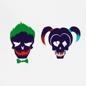 Harley quinn and Joker from suicide squad - Adjustable Apron