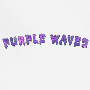 Purple Waves - Adjustable Apron