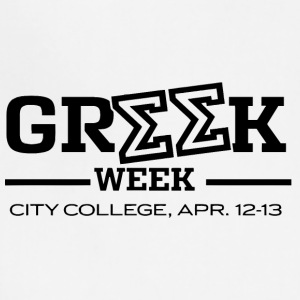 Greek Week City College - Adjustable Apron