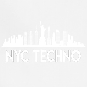 NYC Techno Skyline - Adjustable Apron